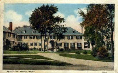 Bethel Inn - Maine ME Postcard