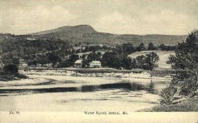 Water Spout - Bethel, Maine ME Postcard