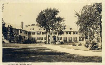 Real Photo - Bethel Inn - Maine ME Postcard