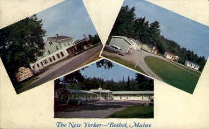 The New Yorker - Bethel, Maine ME Postcard