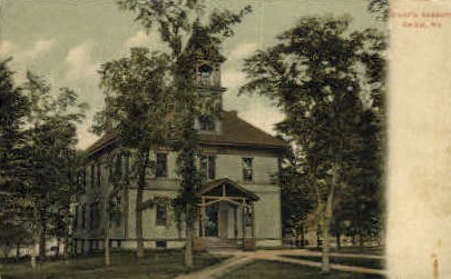 Gould's Academy - Bethel, Maine ME Postcard