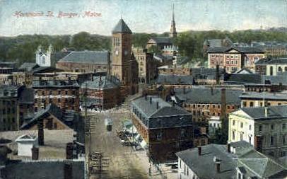 Hammod St. - Bangor, Maine ME Postcard