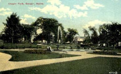 Chapin Park - Bangor, Maine ME Postcard