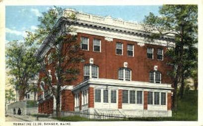 Terratine Club - Bangor, Maine ME Postcard
