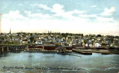 Bangor, Maine, ME Postcard