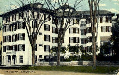 The Colonial - Bangor, Maine ME Postcard