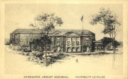 University of Maine - Bangor Postcard