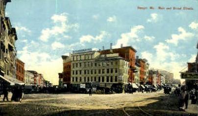 Main & Broad Sts. - Bangor, Maine ME Postcard