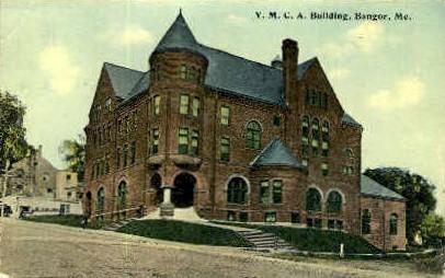 Y.M.C.A. Building - Bangor, Maine ME Postcard