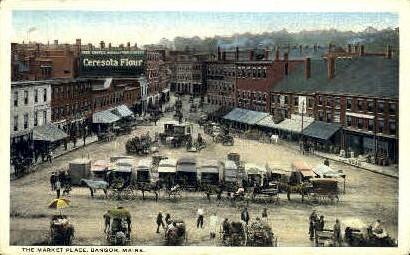 The Market Place - Bangor, Maine ME Postcard