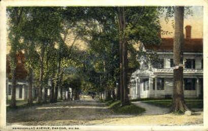 Kenduskeag Ave. - Bangor, Maine ME Postcard