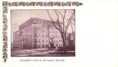 Bangor House - Maine ME Postcard