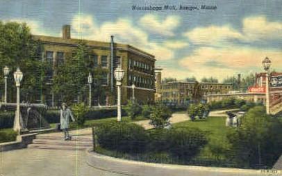 Norumbega Mall - Bangor, Maine ME Postcard