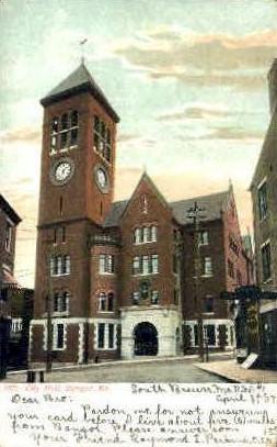City Hall - Bangor, Maine ME Postcard