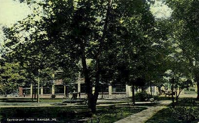 Davenport Park - Bangor, Maine ME Postcard