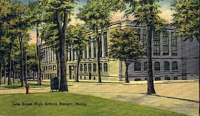John Baptist High School - Bangor, Maine ME Postcard