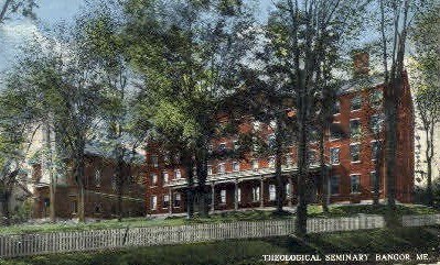Theological Seminary - Bangor, Maine ME Postcard