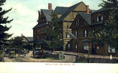 Malvern Hotel - Bar Harbor, Maine ME Postcard