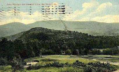 Kebo Mountain & Golf Links - Bar Harbor, Maine ME Postcard
