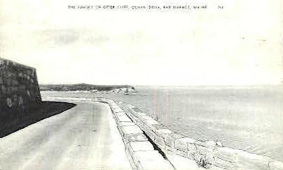 Summit of Otter Cliff - Bar Harbor, Maine ME Postcard