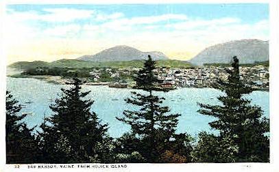 From Rodick Island - Bar Harbor, Maine ME Postcard