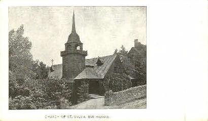 Church of St. Sylvia - Bar Harbor, Maine ME Postcard