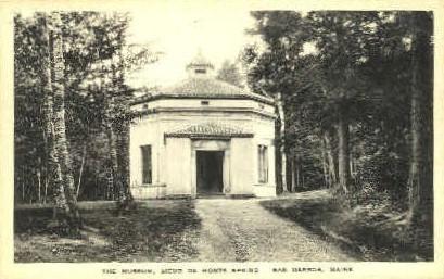 The Museum, Sieur de Monts Spring - Bar Harbor, Maine ME Postcard