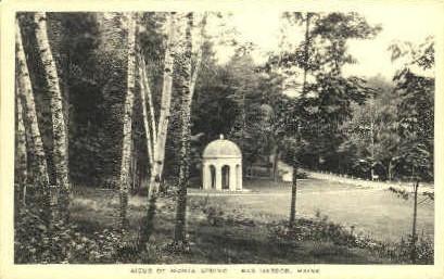 Sieur de Mont Spring - Bar Harbor, Maine ME Postcard