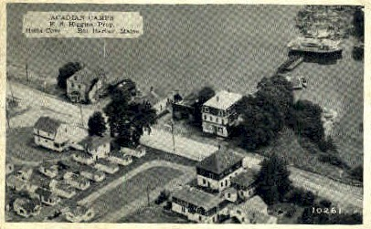 Acadian Camps - Bar Harbor, Maine ME Postcard