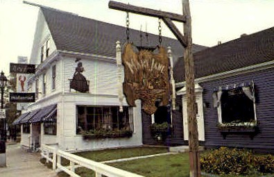Mary Jane Restaurant - Bar Harbor, Maine ME Postcard