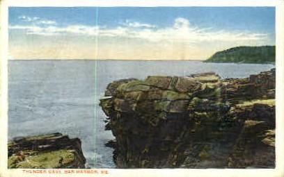 Thunder Cave - Bar Harbor, Maine ME Postcard