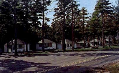 Hinckley's Dreamwood Motor Court - Bar Harbor, Maine ME Postcard