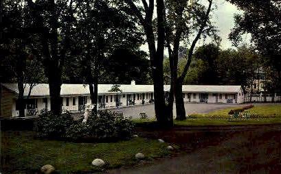 Rockhurst Motel - Bar Harbor, Maine ME Postcard