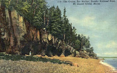 The Ovens - Bar Harbor, Maine ME Postcard