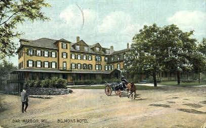 Belmont Hotel - Bar Harbor, Maine ME Postcard