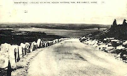 Summit Road - Bar Harbor, Maine ME Postcard