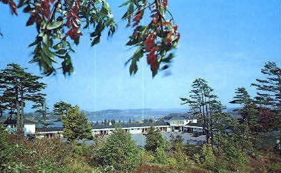 Wonder View Motor Lodge - Bar Harbor, Maine ME Postcard