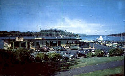 Frenchman's Bay Boating Co.  - Bar Harbor, Maine ME Postcard