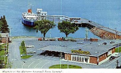 Bluenose, Yarmouth Ferry Terminal - Bar Harbor, Maine ME Postcard