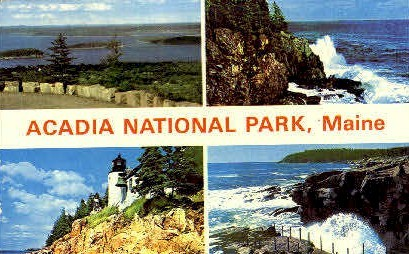 Acadia National Park - Bar Harbor, Maine ME Postcard