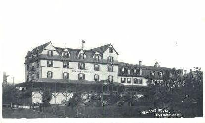 Newport House - Bar Harbor, Maine ME Postcard