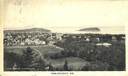 Bar Harbor, Maine, ME Postcard