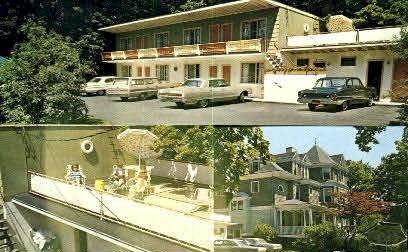 Town Motel & Hotel - Bar Harbor, Maine ME Postcard