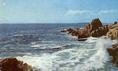 Thunder Hole - Bar Harbor, Maine ME Postcard