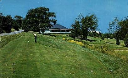 Kebo Valley Golf Club - Bar Harbor, Maine ME Postcard