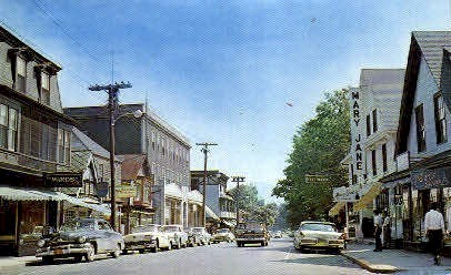 Business Section - Bar Harbor, Maine ME Postcard