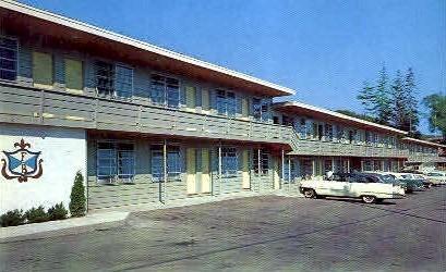 Frenchman's Bay Motel - Bar Harbor, Maine ME Postcard