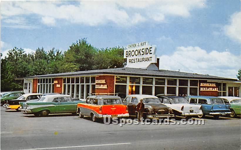 Brookside Restaurant - Bar Harbor, Maine ME Postcard