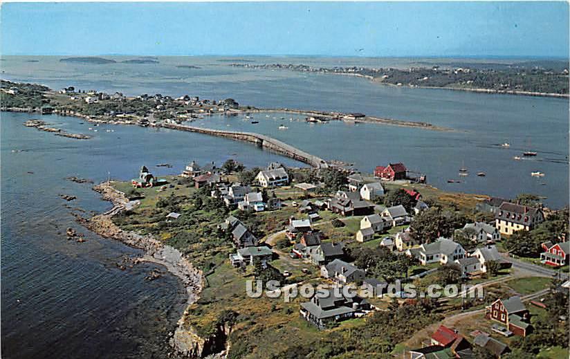 Orr's Island - Bailey Island, Maine ME Postcard