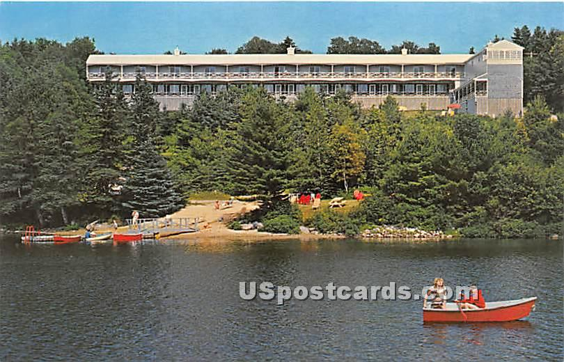 Lake View Motel - Boothbay Harbor, Maine ME Postcard